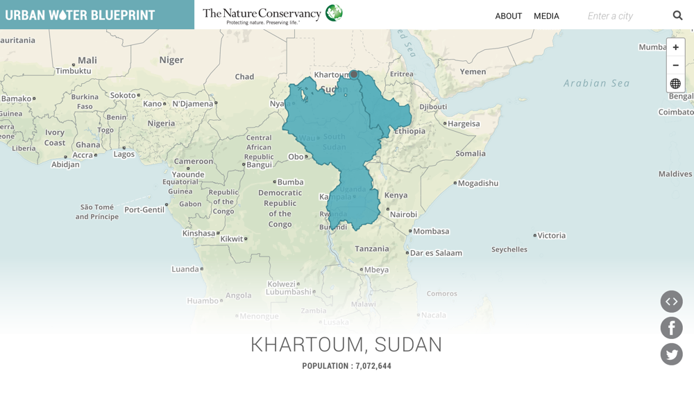 Urban Water Blueprint Khartoum